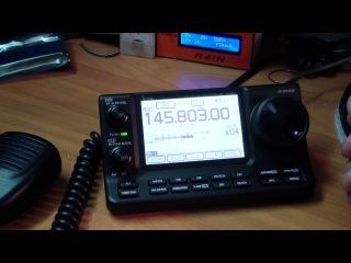 Сеанс радиосвязи с международной космической станцией 1.04.17 (QSO with ISS)