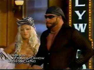 Macho Man Randy Savage attacks Dennis Rodman on The Tonight Show [10th August 1999]