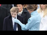 Barron Trump plays an adorable game of peekaboo with Ivanka's baby