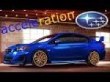 Subaru WRX STi 2016 acceleration 0-251 km/h
