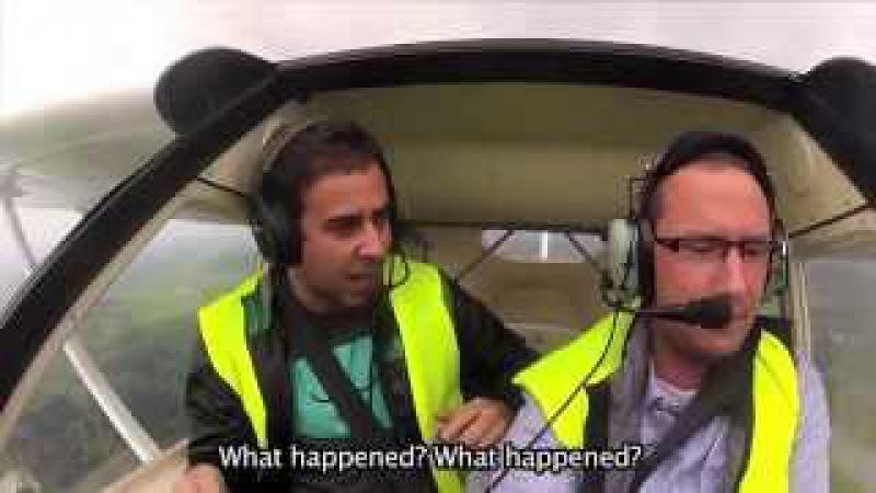 Розыгрыш в самолете! Пилот уснул(Prunk)