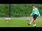 Cristiano Ronaldo In Training - Skills/Tricks/Freestyle HD 2017