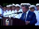 Присяга в ВВМУ имени П.С. Нахимова 30 августа 2014 года