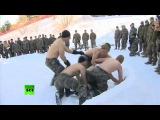 В бой с обнажённым торсом: морпехи США и Южной Кореи провели совместные зимние учения