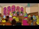 Гомер ловит покемонов в храме Симпсоны 28 сезон 20 серия