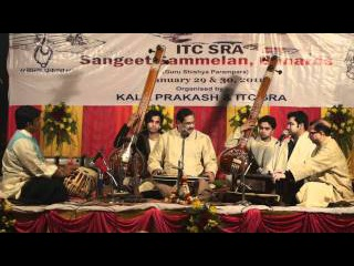 Ajoy Chakrabarty sings in Varanasi on January 29, 2011