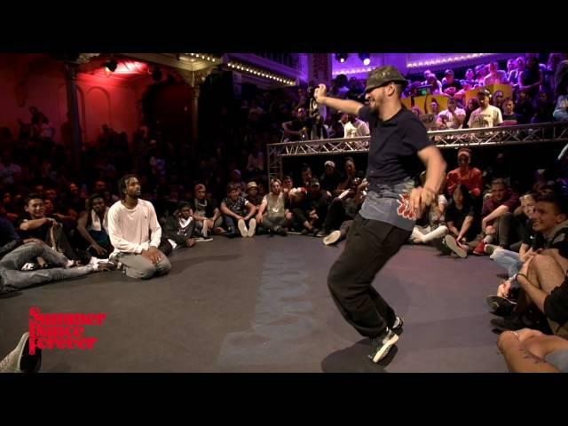 LEto vs Rochka 2ND ROUND BATTLES Hiphop Forever - Summer Dance Forever 2016