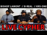 BREAL.TV KRS-One, B-Real, Bishop Lamont - Live Breal.TV Cypher