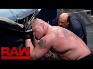WWE Raw 17 October 2016 Highlights Brock Lesnar vs Randy Orton - wwe raw 10/17/16 Highlights