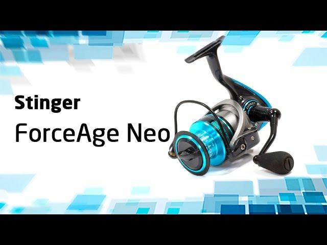 Безынерционная катушка Stinger ForceAge Neo
