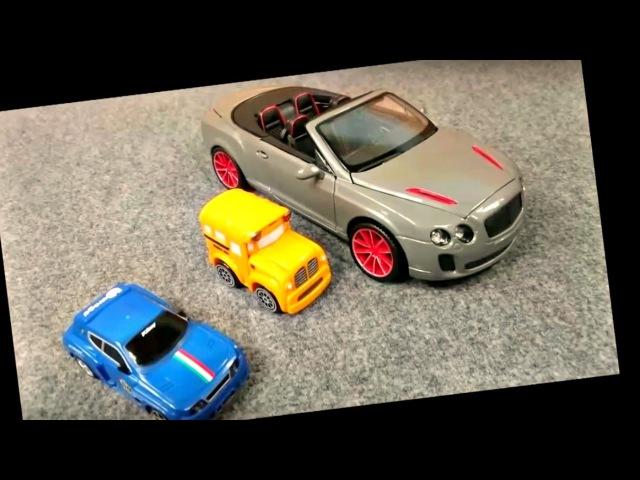 Déballage et assemblage de Bentley avec les voitures Bussy et Speedy
