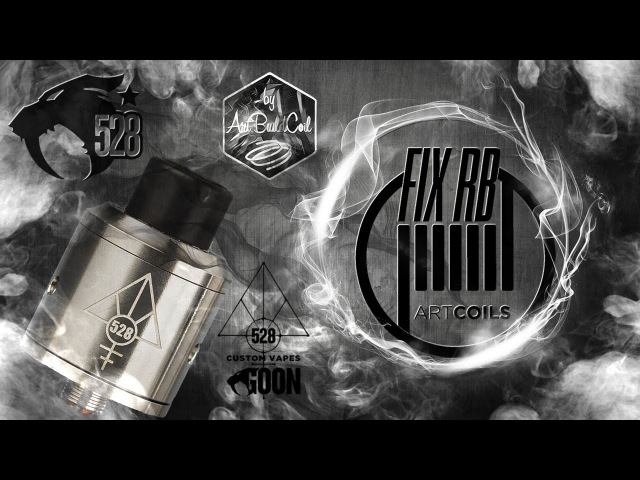 GOON RDA by 528 Custom Vapes| взгляд от Драгоша | LIVE |04.09.16 | 16:20 MCK