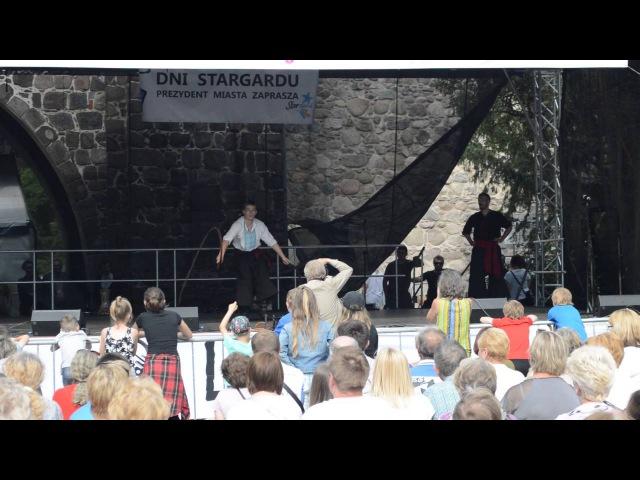 Показовий виступ Братства козацького бойового звичаю Спас в Старгарді Щецинському (Польща)