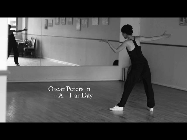 Ksenia Parkhatskaya - Jazz Improvisation to Oscar Peterson