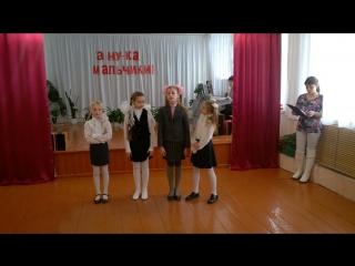 Выступление девочек кружка