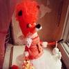 """Авторская игрушка """"FOX PRINCESS"""""""
