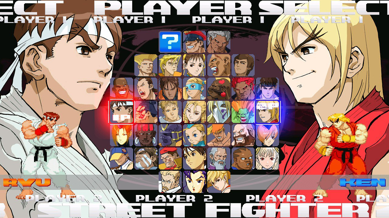 Street Fighter Zero 3 HD (1280x720) mugen 1 0 - [ COMPILATIONS