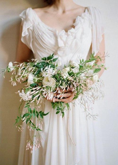 XUDHZv7 q5s - Жасмин в весенних свадебных букетах и декоре