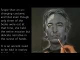 Alan Rickman Portrait Drawing Art Tribute