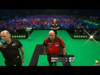 James Wilson v Mervyn King (PDC European Championship 2016 / Round 2)