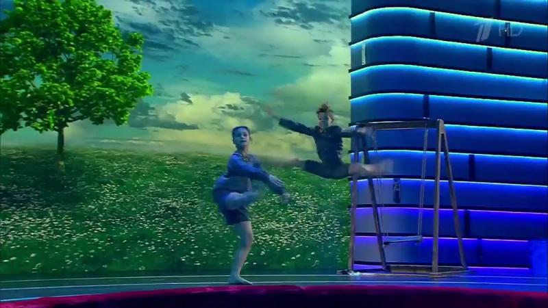 Лучше всех! Артистичные танцоры Александр Старцев и Мария Каверина. 16.04.2017