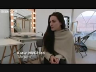 Интервью на съемочной площадке первого сезона «Мерлина»