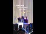 25 марта 2017 вечеринка по случаю 70-летия Элтона Джона в Red Studios Hollywood)