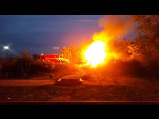 Не большой пожар в Шлюзовом