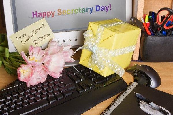 Поздравления с Международным днем секретаря