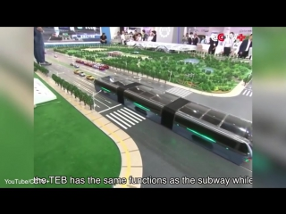 Bus that drives over cars China unveils futuristic transport concept - Worldnews99