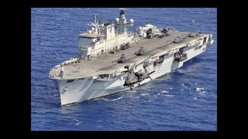 Инженерные идеи Авианосец Илластриас HMS Illustrious