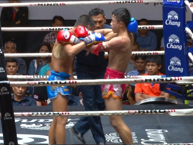Muay Thai -Satanmuanglek vs Jaroenpon(สะท้านเมืองเล็ก vs เจริญพร), Lumpini Stadium, Bangkok, 10.6.16