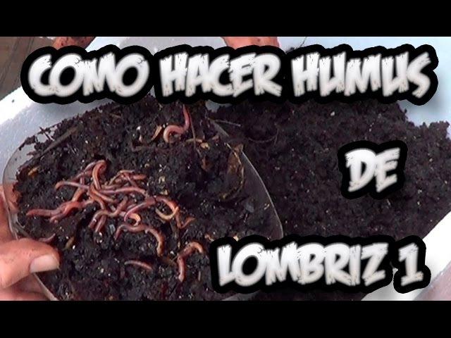 Como Hacer Humus De Lombriz 1 Abono Organico La Huertina De Toni