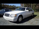 1996 Mercedes-Benz S320 Start Up, Engine, and In Depth Tour