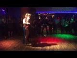 Bachata show in HAMBURG - Raul y Maria  (Macumba dance floor )