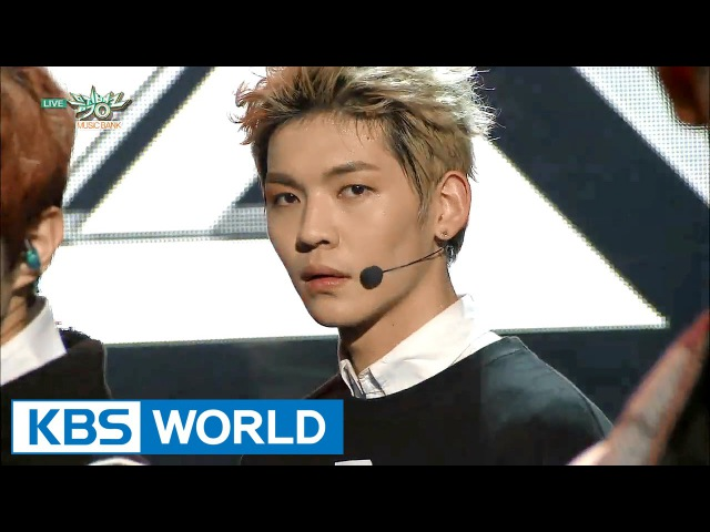 UP10TION - SO DANGEROUS Catch me | 업텐션 - 위험해 여기여기 붙어라 [Music Bank HOT Stage 2016.01.08]