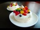 ПАВЛОВА Очень вкусный воздушный порционный десерт Павлова