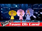 Ida, Mathilde &amp Ella Marie Team Oh Land synger Grethe &amp J