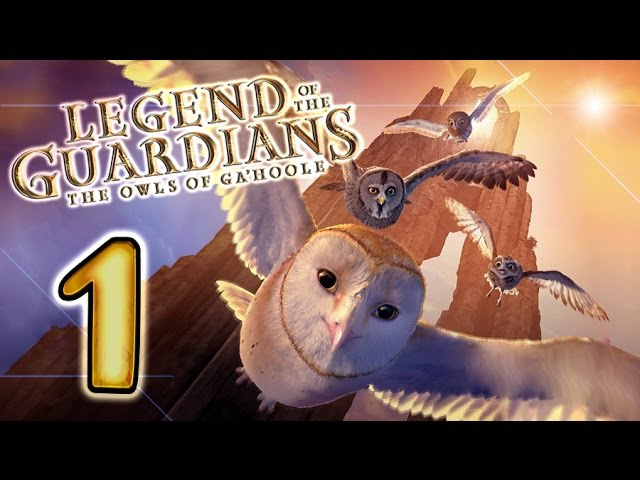 Legend of the Guardians: The Owls of Ga'Hoole Walkthrough Part 1 (PS3, X360, Wii)