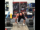 Laurence Shahlaei, тяга 340 кг на 5 раз