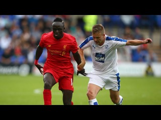 Sadio Mane debut for Liverpool vs Tranmere Rovers