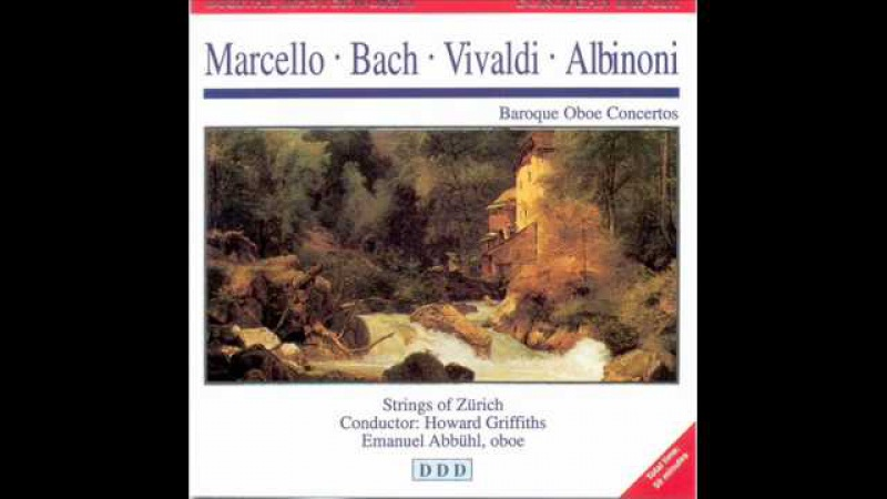a marcello oboe concerto in d Download and print concerto in d minor sheet music for oboe (or violin/flute) and piano by alessandro marcello with mp3 music accompaniment tracks high quality.