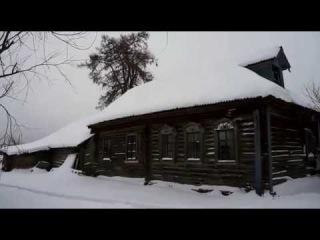 Зима в деревне. Winter in the Russian village. Estas Tonne music.