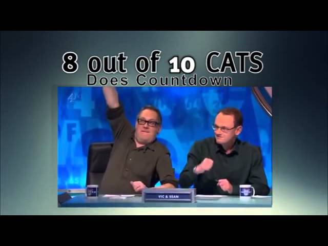 8 Out Of 10 Cats Does Countdown S6E5 - Jack Whitehall, Joe Wilkinson, Bob Mortimer, Rachel Riley