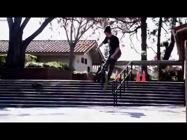 BMX BRANDON BEGIN OSS VIDEO 2014!!