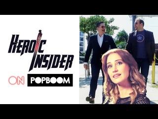 HEROIC INSIDER EPISODE 4: Maude Garrett Variant, Captain America Civil War, SpiderMan, X-Men...