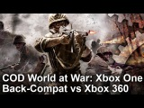 Call of Duty: World at War - Xbox One vs Xbox 360 Frame-Rate Test
