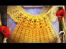 Вязание КРЮЧКОМ!! Платье для девочки Часть 1