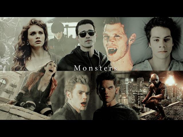 Multifandom | Monster (Collab)