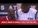 01.12.93 - Michael Jordan vs Shaquille O'Neal First Meeting (MJ Blocks Shaq In First Play)
